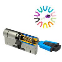 Afbeelding van M&C Color+ cilinder met kerntrekbeveiliging (1x) SKG***